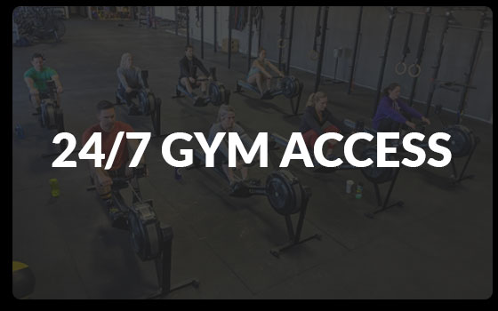 24/7 Gym Access at Boulder CrossFit in Boulder Colorado